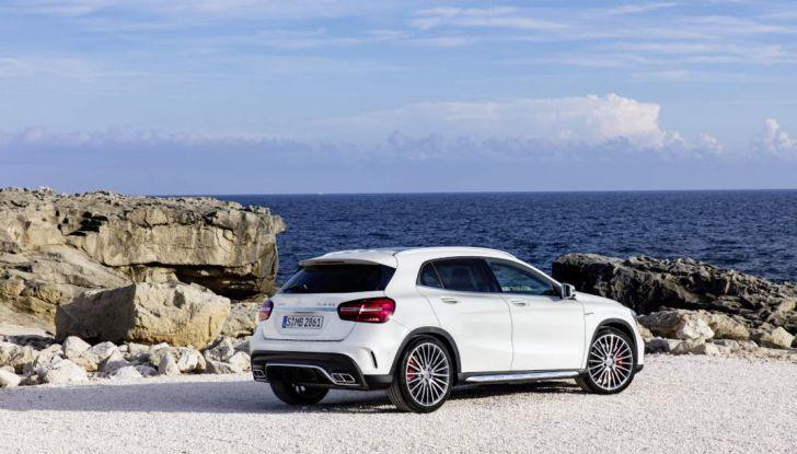 Mercedes GLA: motorizzazioni, allestimenti e dispositivi di sicurezza - Foto 13 di 30