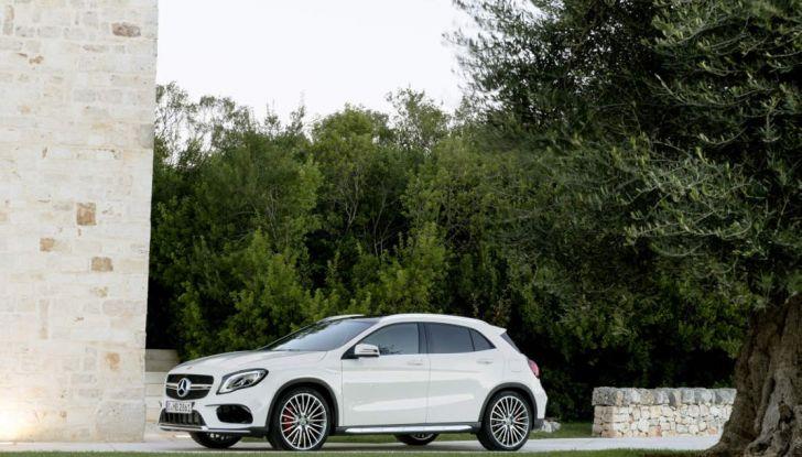 Mercedes GLA: motorizzazioni, allestimenti e dispositivi di sicurezza - Foto 16 di 30