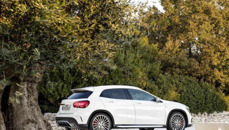 Mercedes GLA: motorizzazioni, allestimenti e dispositivi di sicurezza - Foto 17 di 30