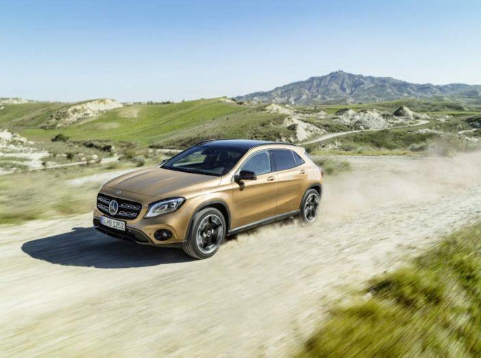 Mercedes GLA: motorizzazioni, allestimenti e dispositivi di sicurezza - Foto 20 di 30