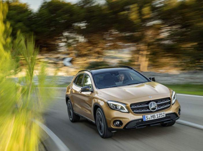 Mercedes GLA: motorizzazioni, allestimenti e dispositivi di sicurezza - Foto 22 di 30