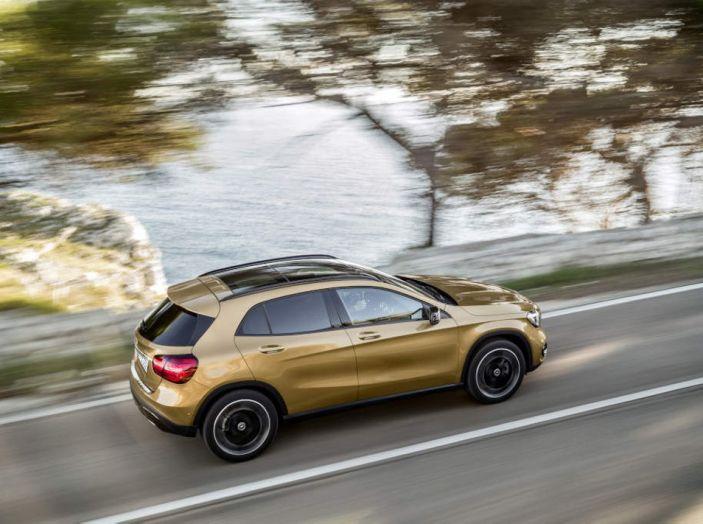 Mercedes GLA: motorizzazioni, allestimenti e dispositivi di sicurezza - Foto 25 di 30