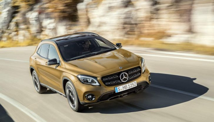 Mercedes GLA: motorizzazioni, allestimenti e dispositivi di sicurezza - Foto 26 di 30