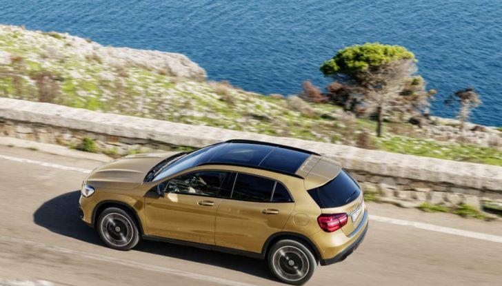 Mercedes GLA: motorizzazioni, allestimenti e dispositivi di sicurezza - Foto 28 di 30