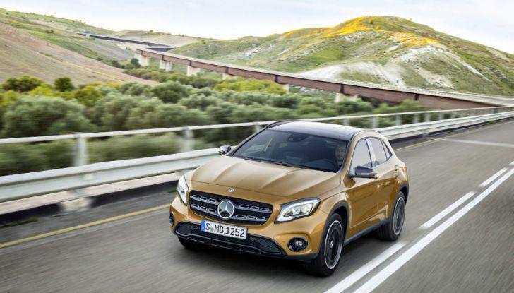 Mercedes GLA: motorizzazioni, allestimenti e dispositivi di sicurezza - Foto 29 di 30