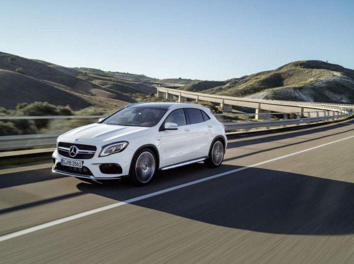 Mercedes GLA: motorizzazioni, allestimenti e dispositivi di sicurezza - Foto 7 di 30