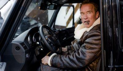 Arnold Schwarzenegger si regala un Mercedes Classe G elettrico da 489CV
