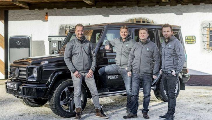 Classe G Mercedes elettrico SCHWARZENEGGER