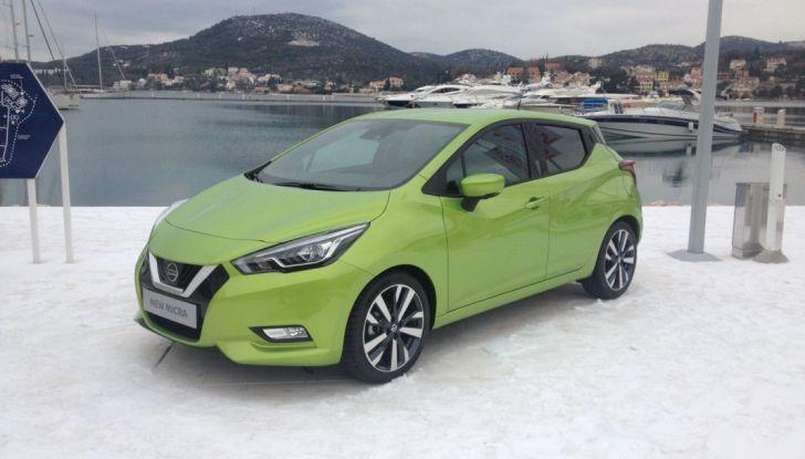 Nuova Nissan Micra, la prova su strada della 5° generazione - Foto 10 di 17