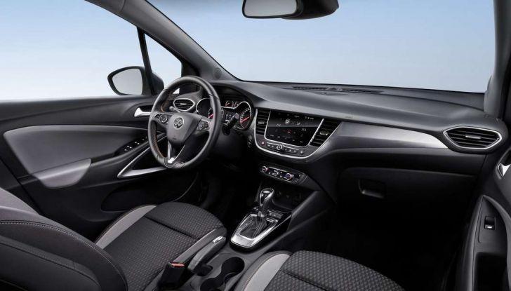 Opel Crossland X, il nuovo crossover