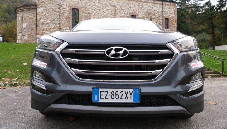 Hyundai Tucson 2.0 CRDi da 185CV calandra
