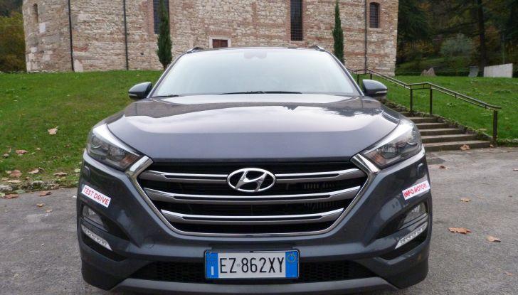 Hyundai Tucson 2.0 CRDi da 185CV frontale
