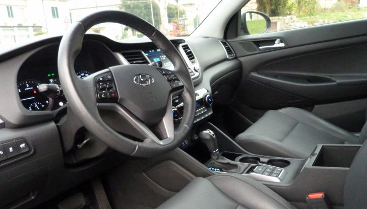 Hyundai Tucson 2.0 la nostra prova, interno.