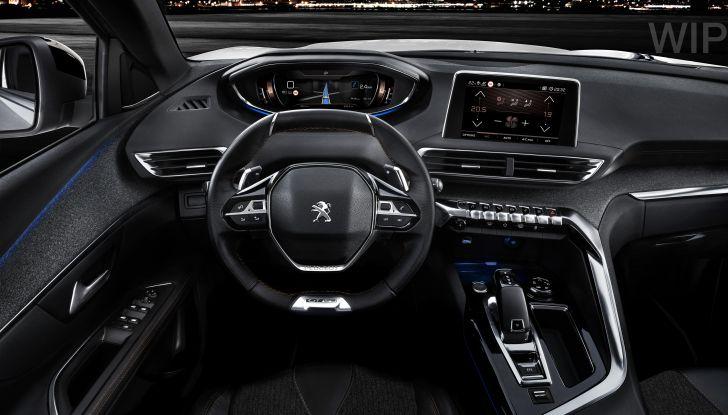 Peugeot 3008 postazione guida