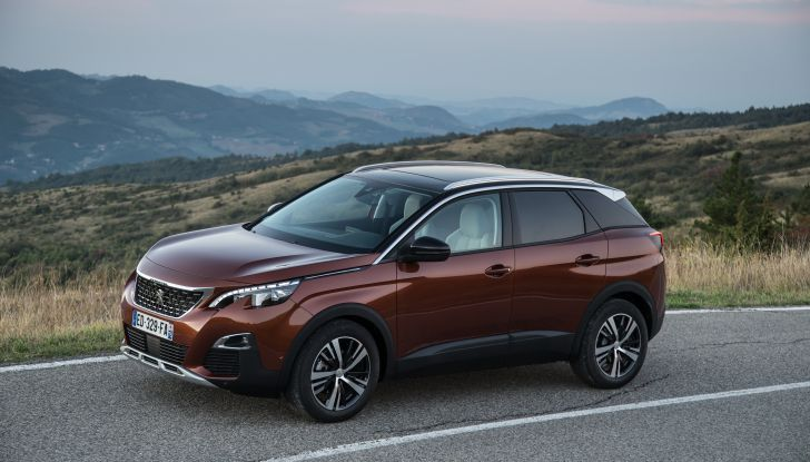 Peugeot 3008 laterale