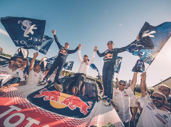 Peugeot vince ancora la Dakar! Podio 100% 3008DKR - Foto 5 di 5