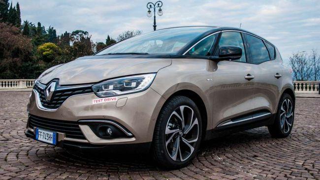 Prova Nuova Renault Scenic Ora Con Il Benzina Tce Da 115