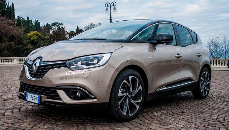 Renault Scenic 1.5 dCi 110 CV, prova su strada e impressioni di guida