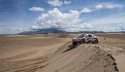 La Peugeot 3008DKR vittoriosa in una quarta tappa complicata