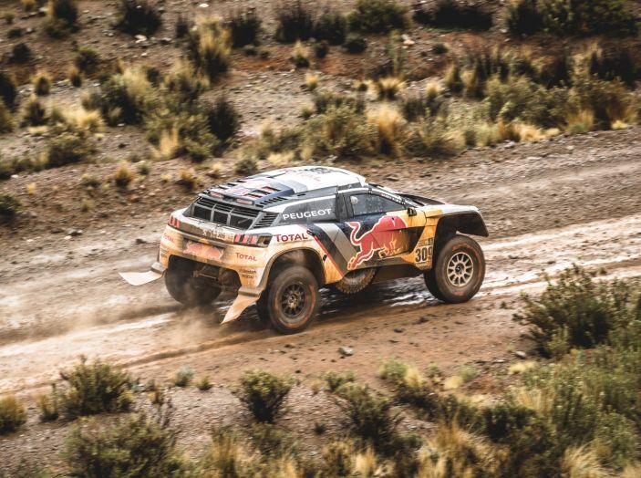 Peugeot monopolizza il podio provvisorio della Dakar - Foto 4 di 6
