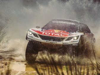 Le Peugeot 3008DKR entrano in gara!