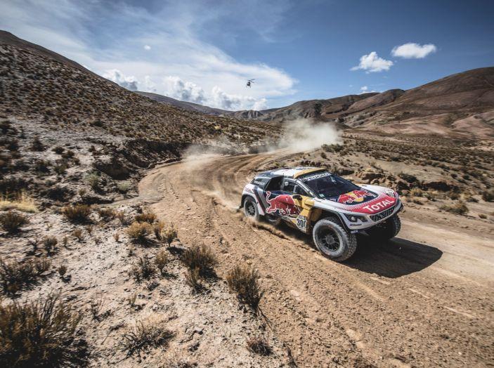 La Peugeot 3008DKR vittoriosa in una quarta tappa complicata - Foto 5 di 5
