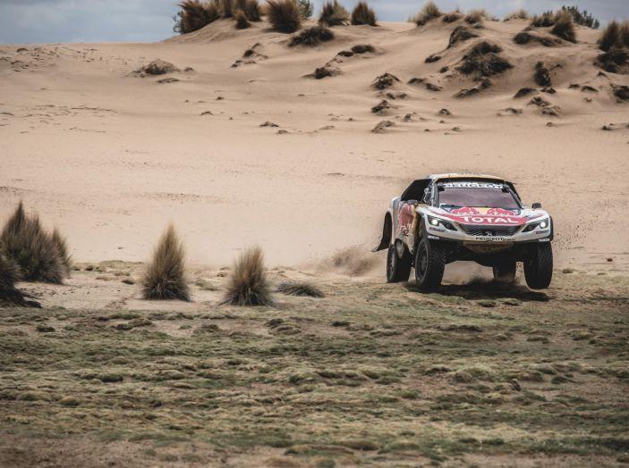 Tripletta delle Peugeot 3008DKR nella seconda parte della tappa marathon - Foto 4 di 5