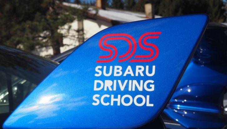 Subaru driving school logo