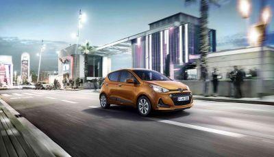 Hyundai i10 2017: prezzi, versioni e motorizzazioni