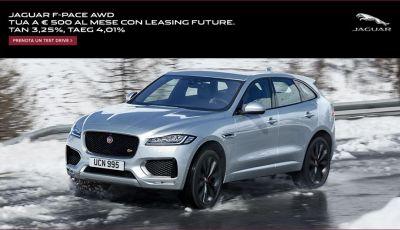 Il SUV Jaguar F-PACE AWD a 500 euro al mese? Magari ...!
