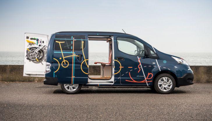 Nissan e-NV 200 WORKSPACe: l'ufficio mobile a zero emissioni - Foto 2 di 10