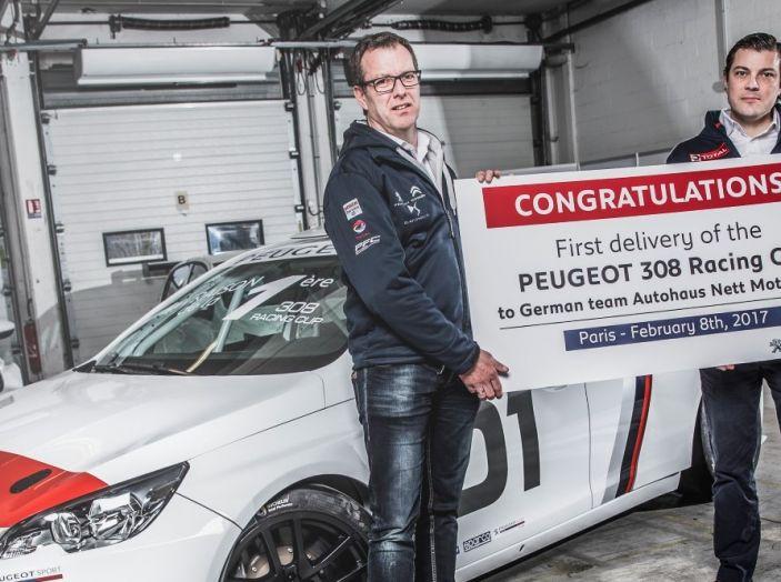 Consegnata la prima Peugeot 308 Racing Cup - Foto 1 di 12