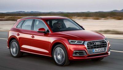 Audi Q5: le informazioni sulla gamma ed i prezzi
