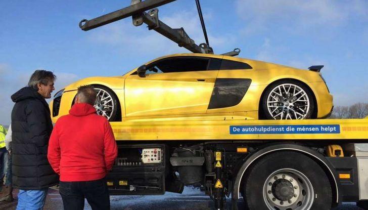 Audi R8 V10 Plus Olanda