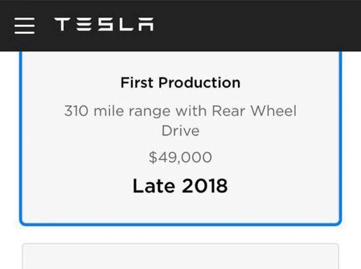 Tesla Model 3: al via la produzione, prime consegne a fine luglio - Foto 7 di 11