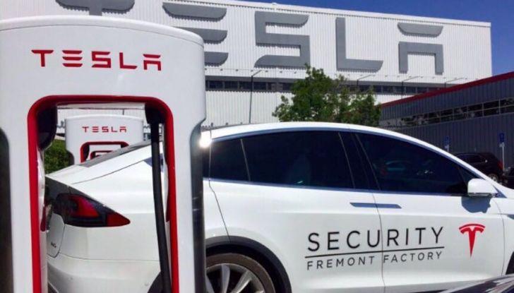 Tesla Model 3, la produzione inizia il 20 febbraio - Foto 9 di 11