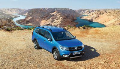 Nuova Dacia Logan MCV Stepway 2018, informazioni e dati ufficiali