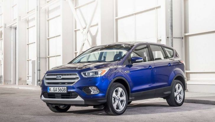 Ford Kuga restyling 2017