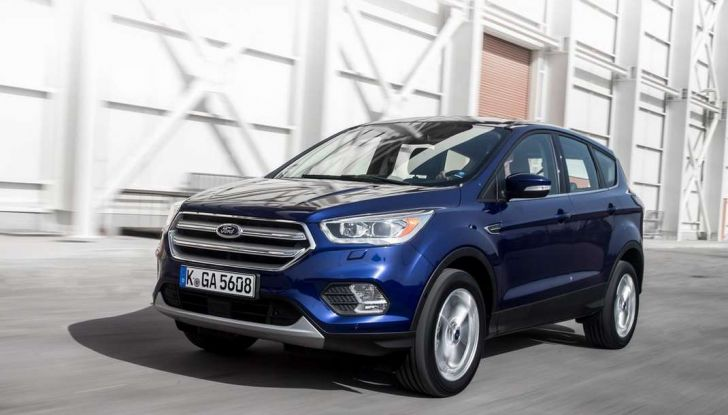 Ford Kuga restyling 2017.