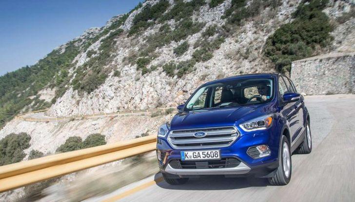 Nuovo Suv Ford Kuga 2017