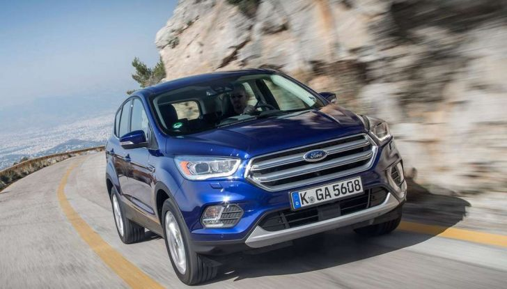 Restyling Ford Kuga 2017