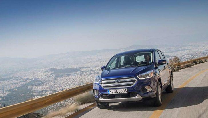 Ford Kuga 2017 restyling suv