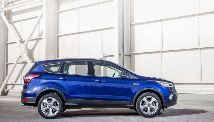 Ford Kuga 2017 laterale