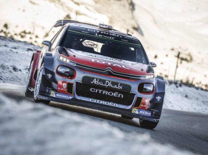 Citroën C3 WRC rally Svezia