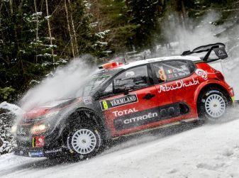 Le CITROËN C3 WRC rompono il ghiaccio