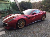 Horacio Pagani acquista una Ferrari F12 TDF, la serie limitata da 780CV