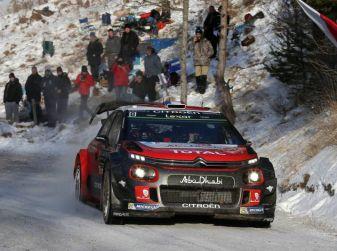 Sport invernali per le CITROËN C3 WRC