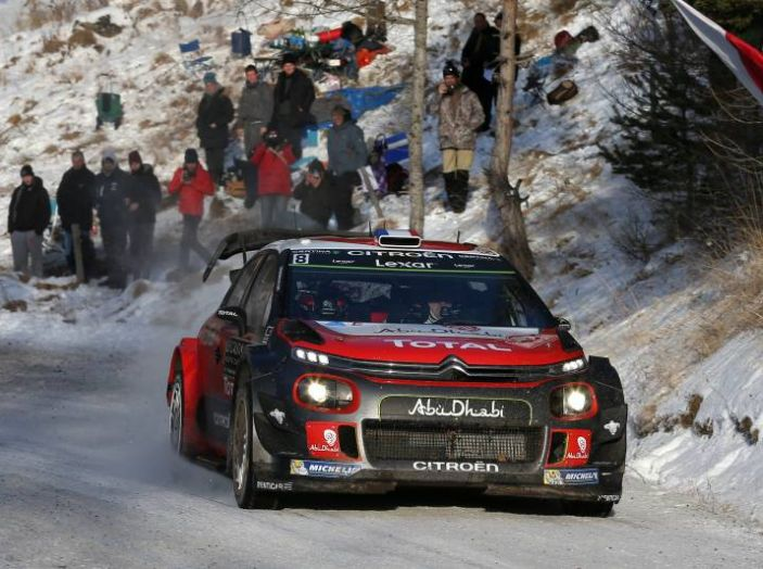 Citroën C3 WRC sport invernali
