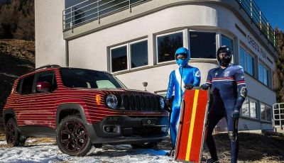 Jeep Renegade Cresta Run firmata Garage Italia Customs