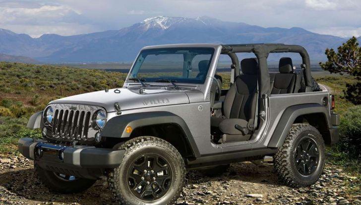 Wrangler Jeep allestimenti, motori e caratteristiche